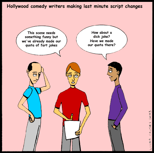 Hollywood comedy writers