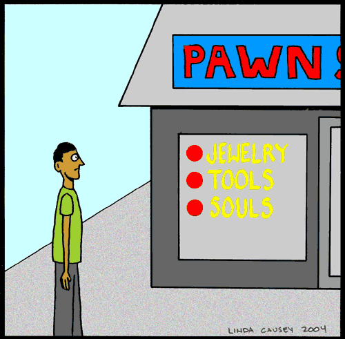 Pawn Shop: Jewelry, Tools, Souls