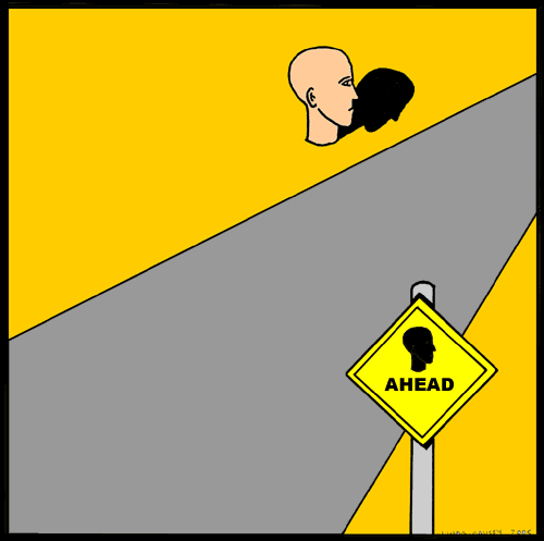 A head ahead