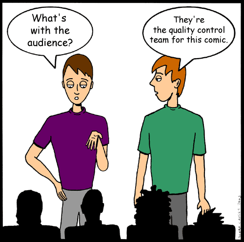 Cartoon audience