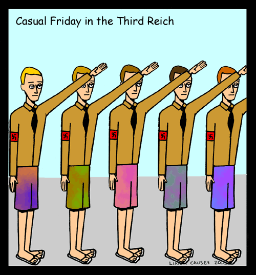 Casual Friday in the Third Reich