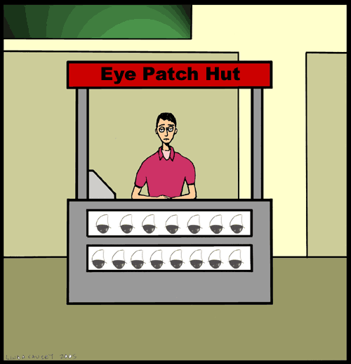 Eye Patch Hut