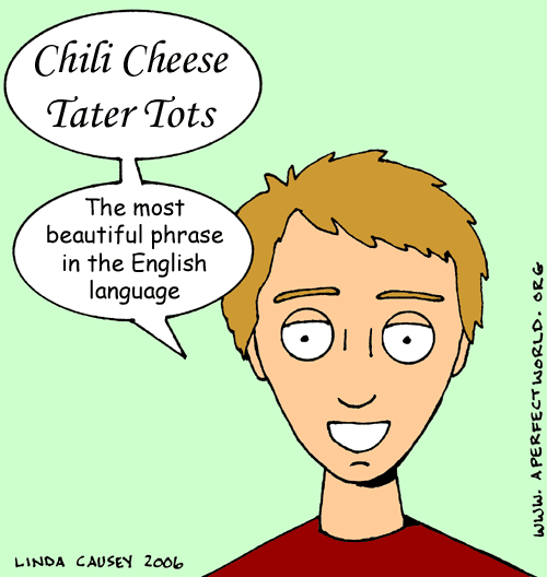 Chili Cheese Tater Tots