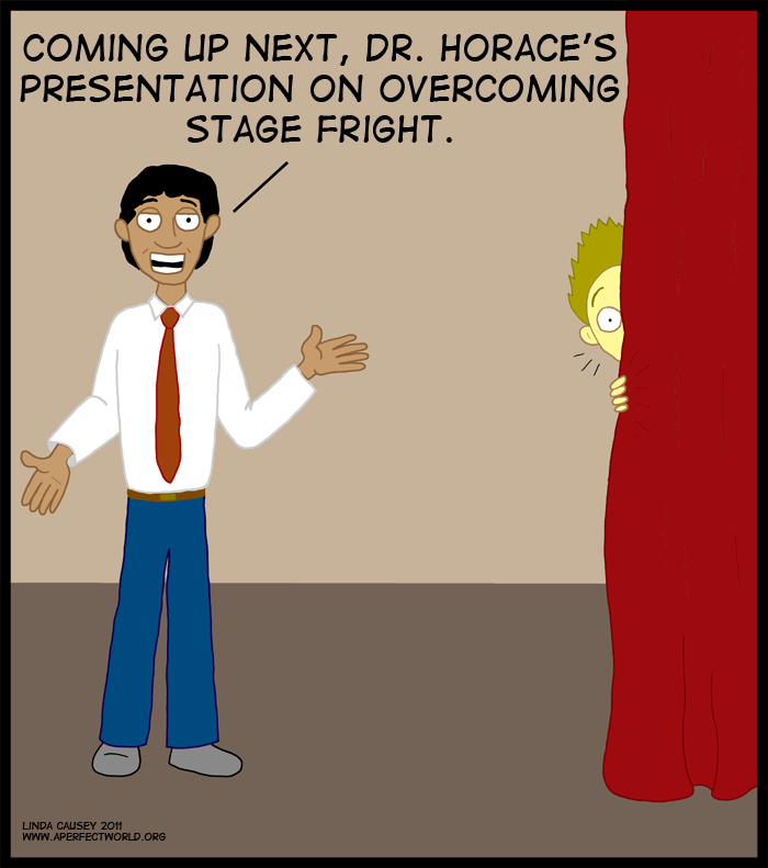 Presentation on overcoming stage fright